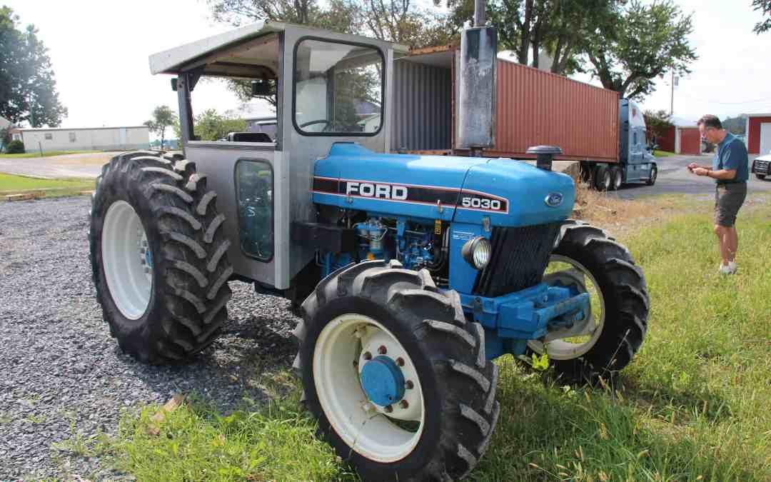 Tractor in Sierra Leone for Farming