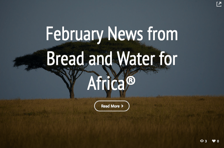 February E-news: A visit to our partners in Kenya
