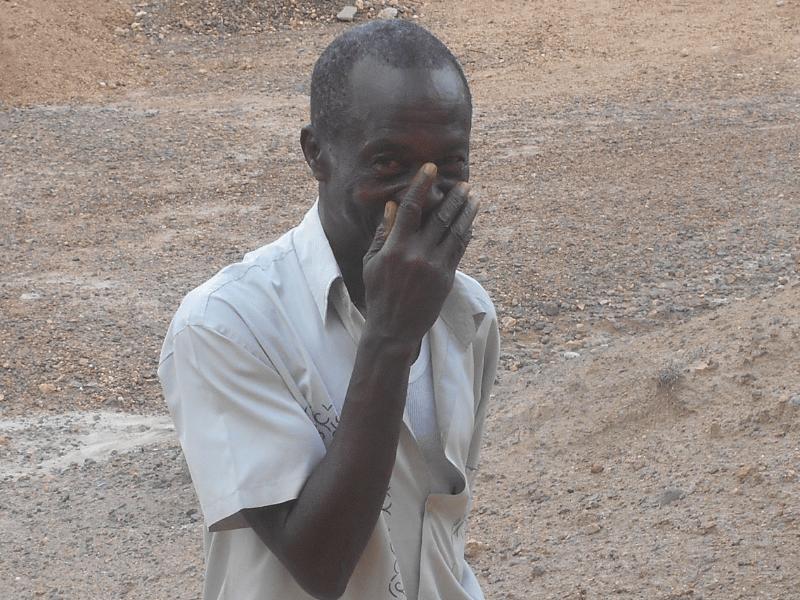Older man who survived Ebola Outbreak