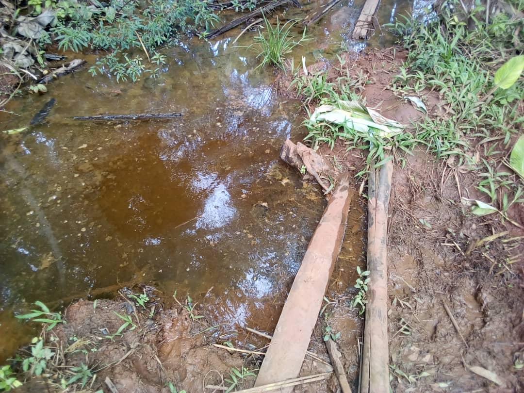 Providing safe drinking water through a spring in Uganda