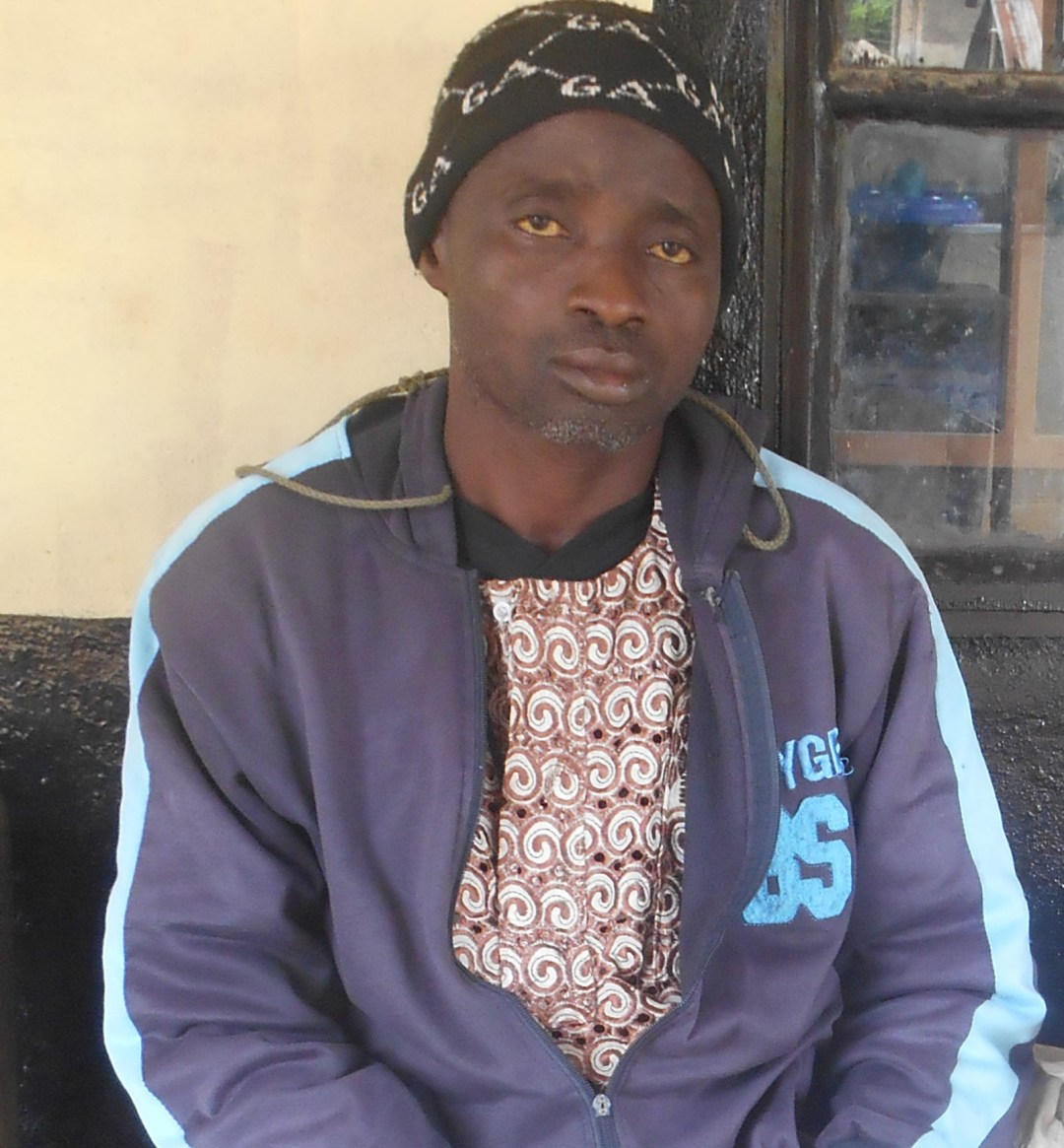 Man who received treatment at health clinic in Sierra Leone