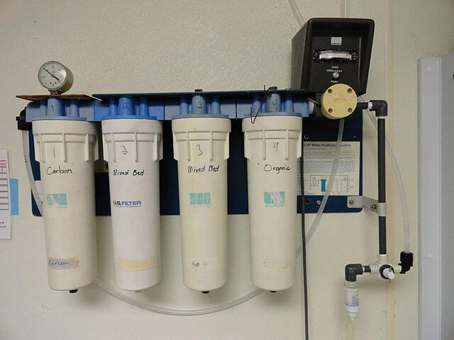 Using of the Water filters is another method for water purification