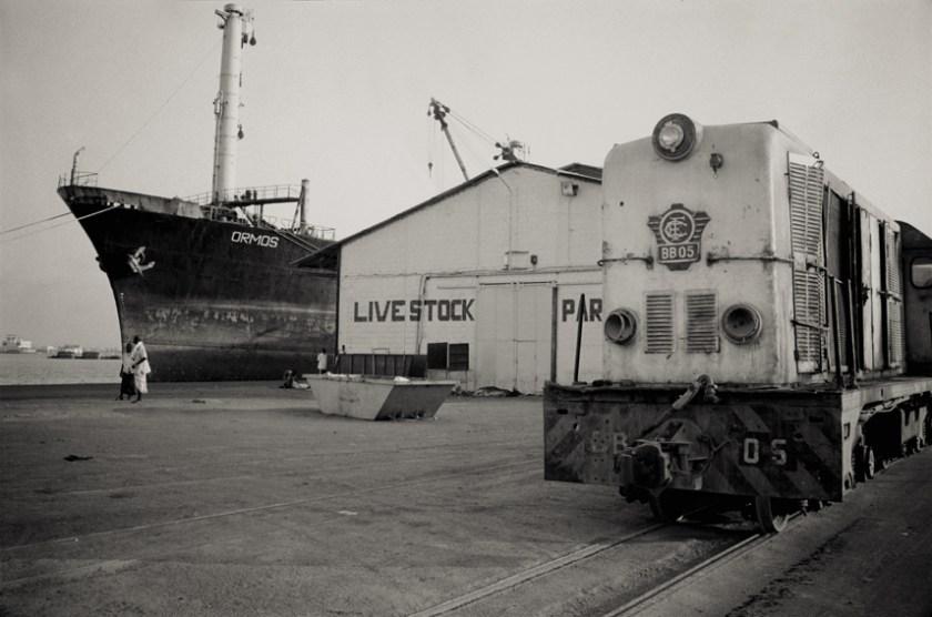 Le train à quai à Djibouti -