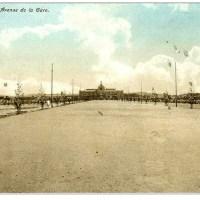 Tananarive. Avenue de la gare