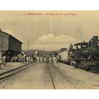 Départ du train pour Djibouti