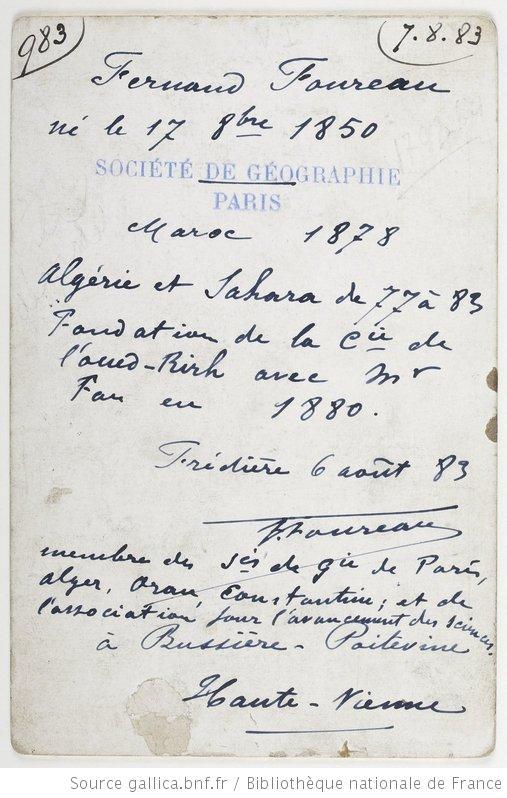 Fernand Foureau vo