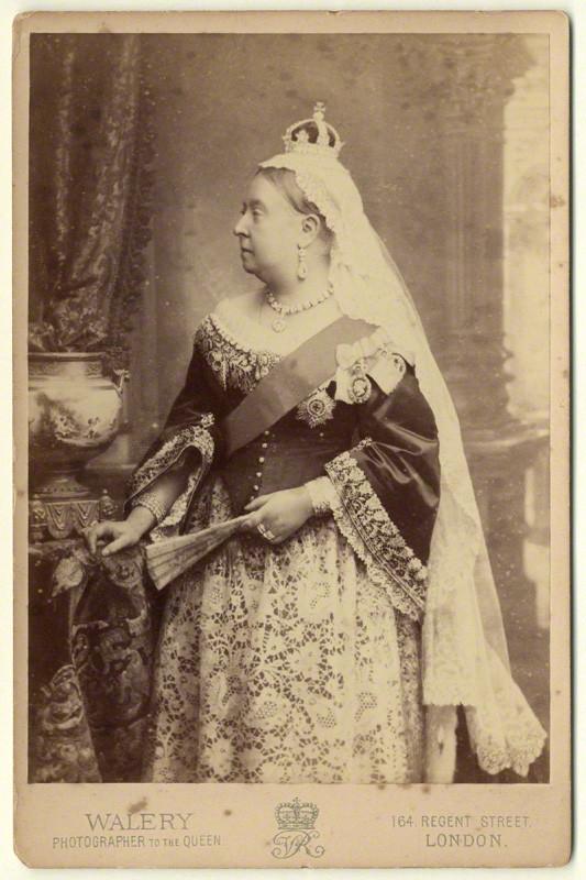NPG x3799; Queen Victoria by Walery