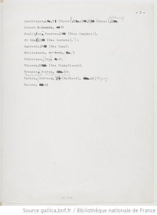liste des photographes