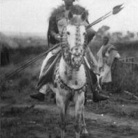 Yassou en cavalier abyssin