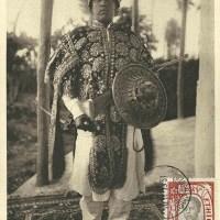 Yassou en tenue de guerrier choan