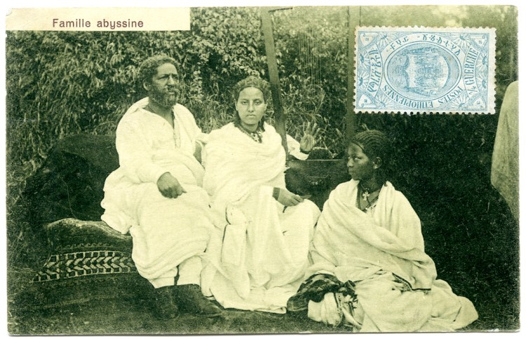 Famille abyssine ro