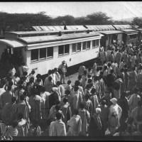 L'arrivée du train de Djibouti