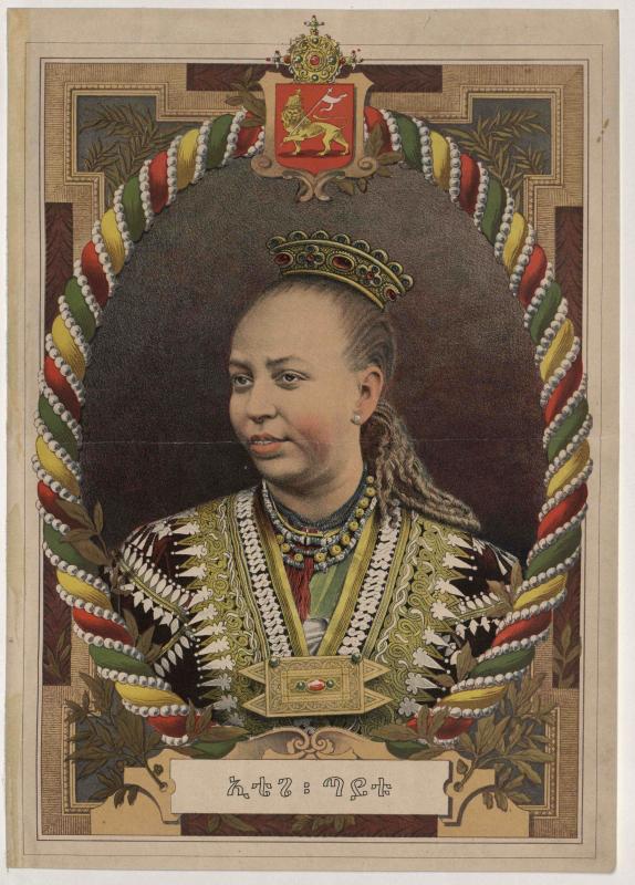 Taitu, Kaiserin von Abessinien