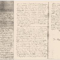 Une lettre inédite d'Arthur Rimbaud écrite à Londres le 16 avril 1874