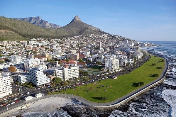 south Africa, medium develped country