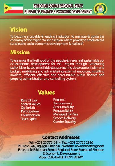 Ethiopian Somali Regional State Bureau Of Finance