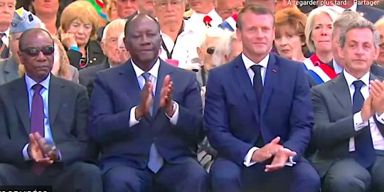 La France a une part d'Afrique en elle » : le vibrant hommage d'Emmanuel  Macron, qui (...) - AfricaPresse.Paris