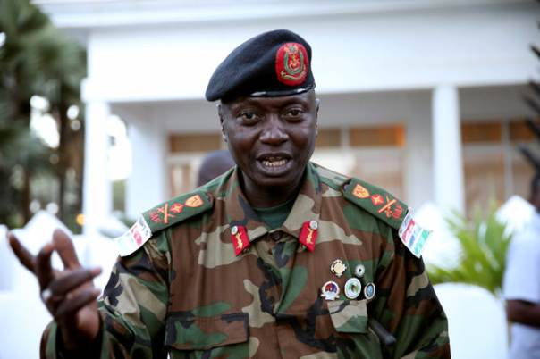 Gambia's Army Chief Pledges Allegiance To Embattled President Jammeh