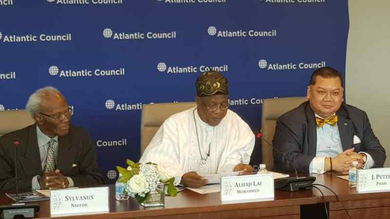 Lai Mohammed at Roundtable