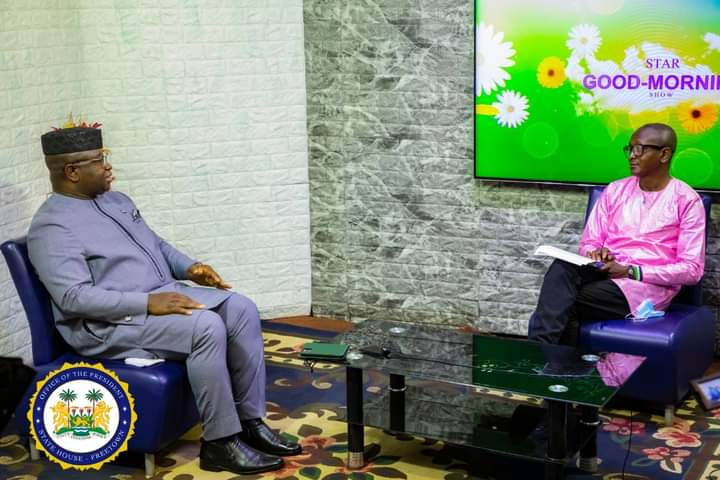 Sierra Leone's President Bio Continues His Citizens' Engagement on Radio Democracy and Star TV