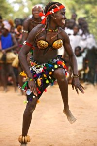 Guinea, il carnevale piu bello