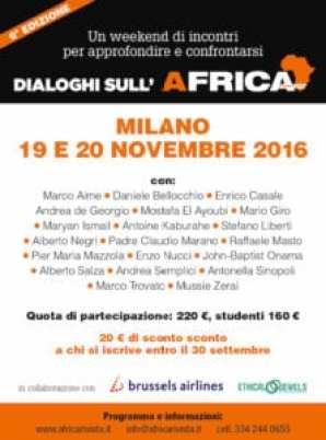 Workshop Dialoghi sull'Africa 2016