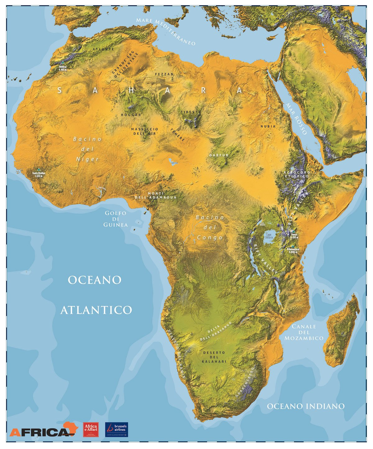 Cartina Fisica Dell Africa Mediterranea.Africa Lessons Blendspace