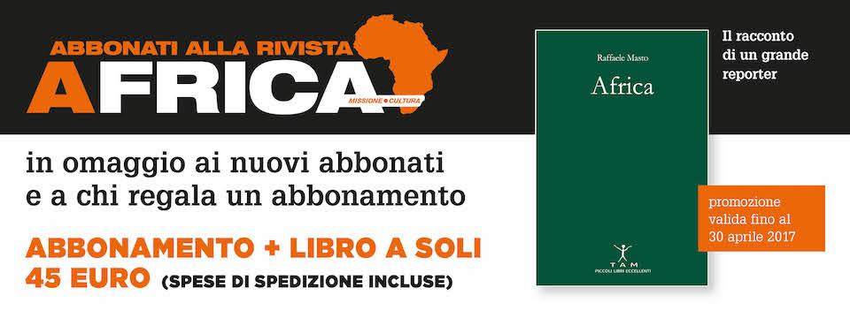 Abbonamento Africa + libro in omaggio