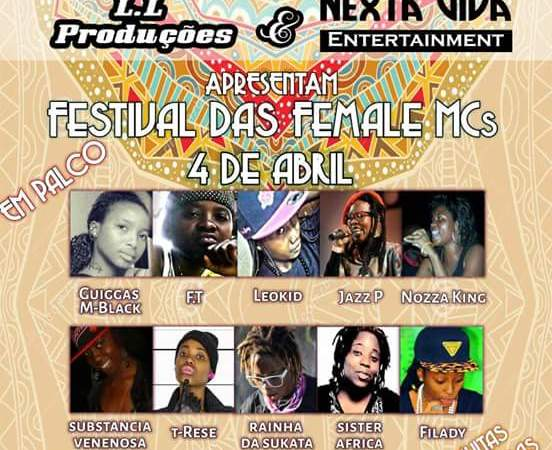 Festival das female MCs @ Gil Vicente (04/04/2015)