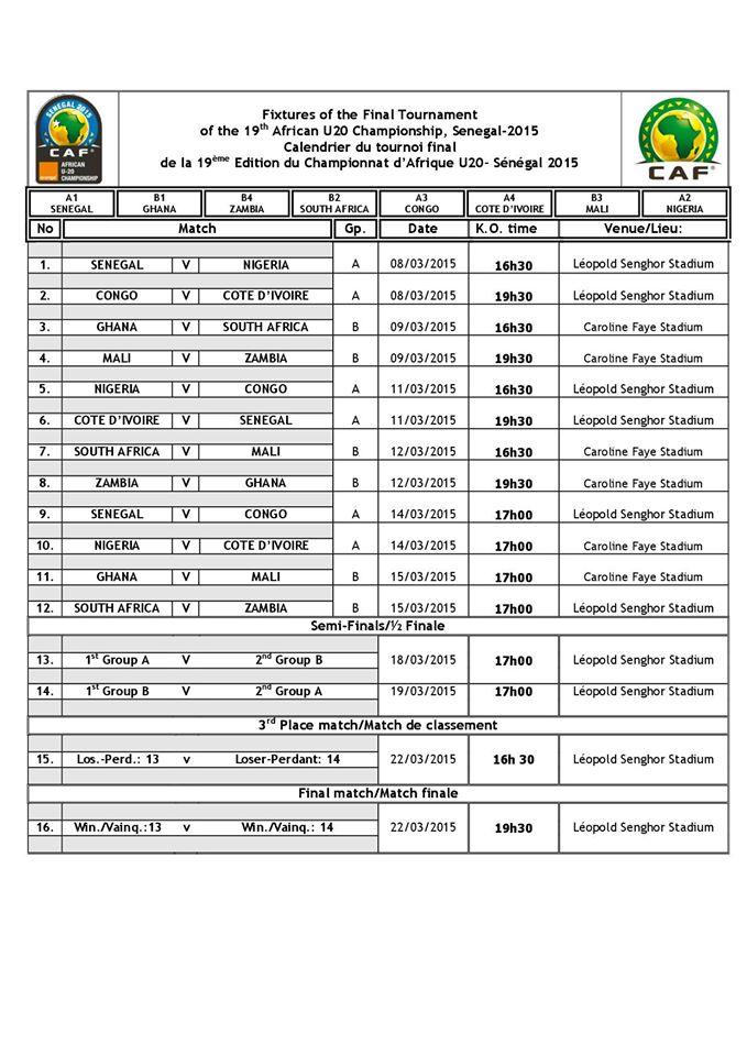 calendrier rencontres liga