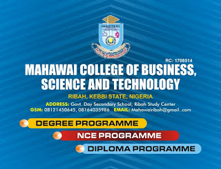 Mahawai College of Business and Science Tech Form