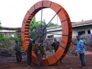 Craftskills - Rueda para un proyecto de agua en Camerún