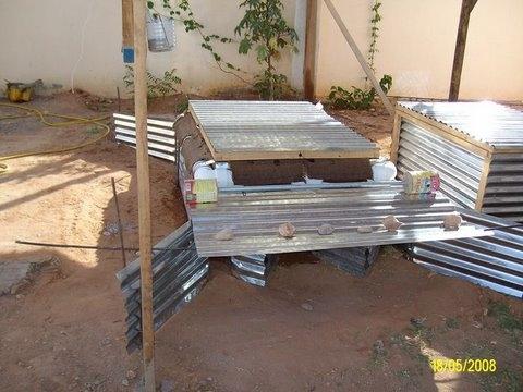 Diseño de caja de enfriado para el Refrigerador por Evaporación Revestido