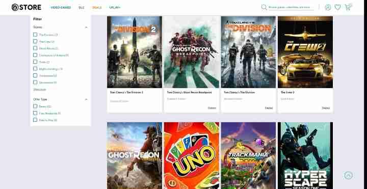 Uplay Jeux-vidéo gratuits