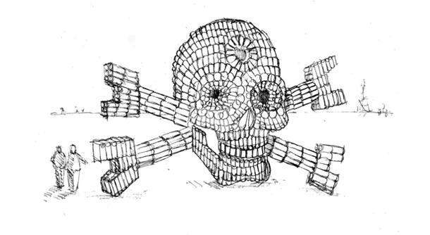 Bottle-Skull