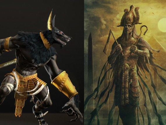 Sumerian Anunnaki Gods of Egypt Osiris and Set first pyramid War