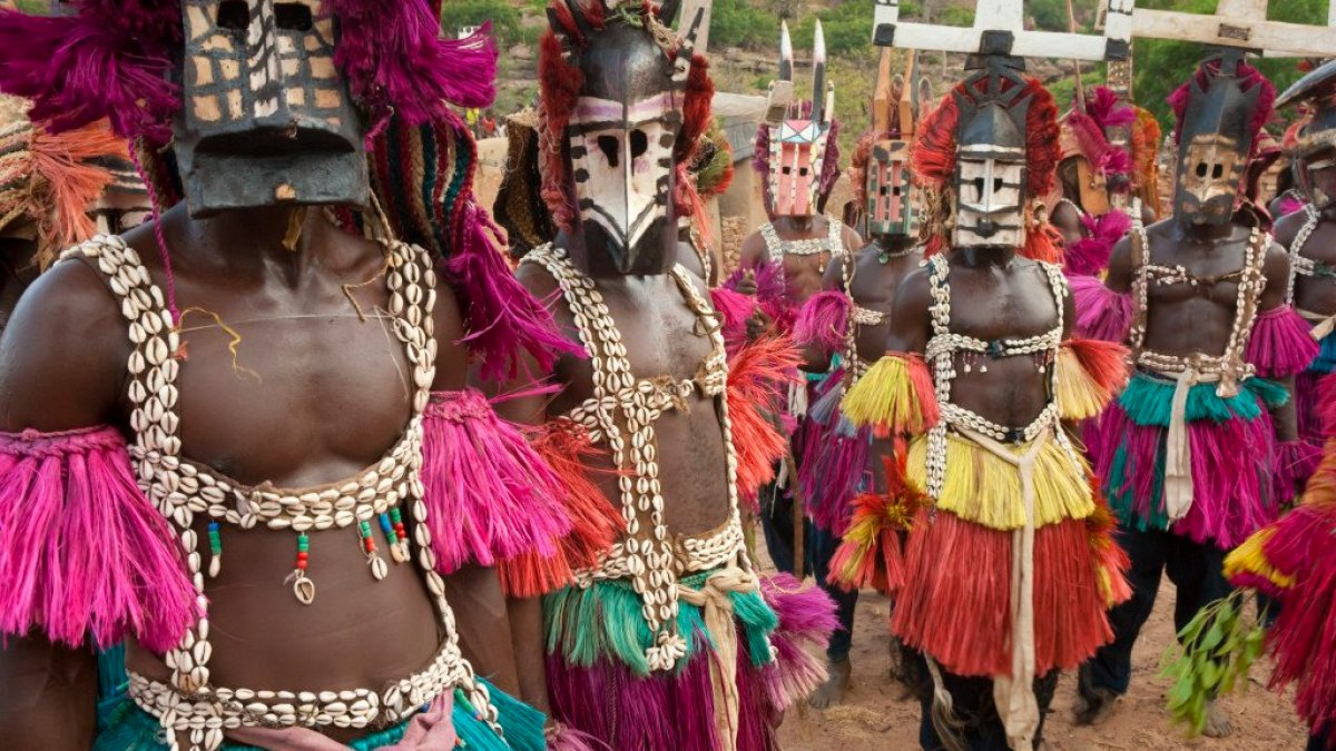 The Ancient Alien Connections Of Mali's Dogon Tribe