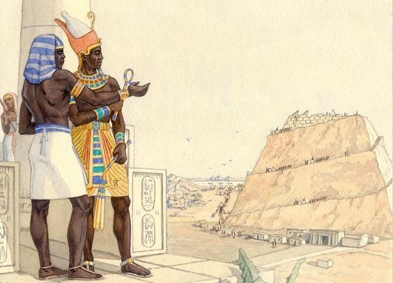 Imhotep The African: Ancient Egypt's First Architect