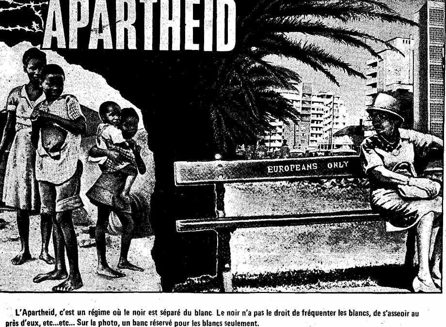 Black History Lessons From Apartheid & Jim Crow