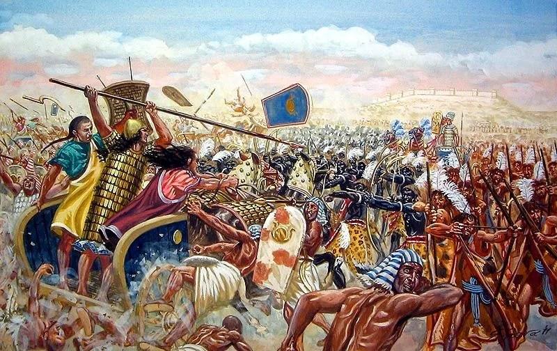 The Anunnaki Of Ancient Egypt & Mesopotamia In The Battle Of Kadesh