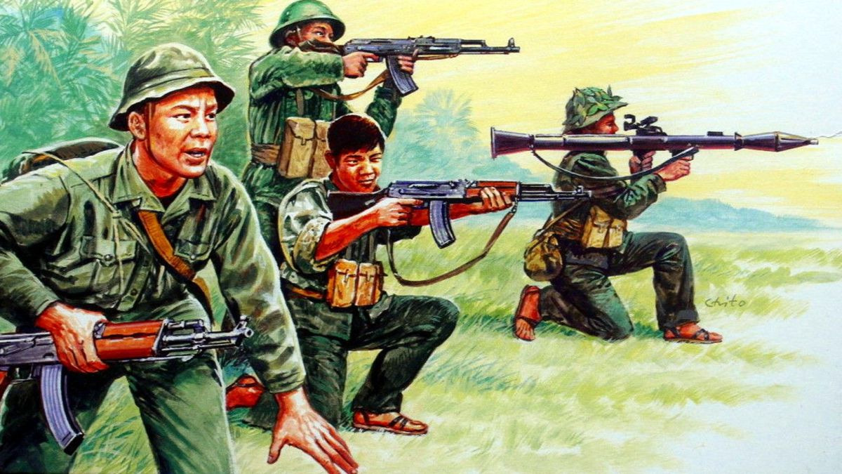 History Of The Vietcong Weapons and Tactics