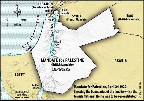 The Palestine Mandate: Full Text
