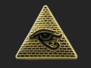 Ancient Masonic all seeing eye