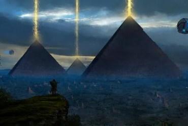 The Giza Pyramid Power Plant
