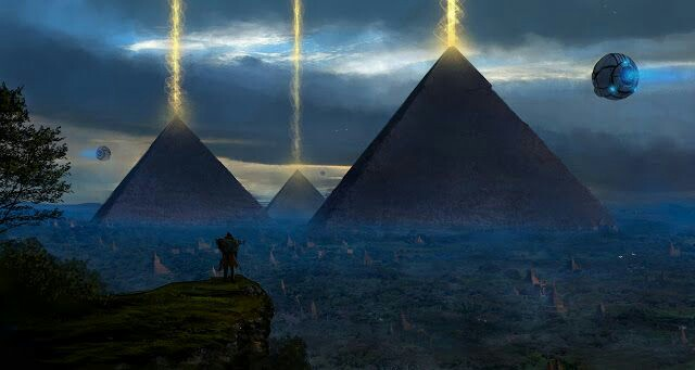 The Giza Pyramid Ancient Alien Power Plant