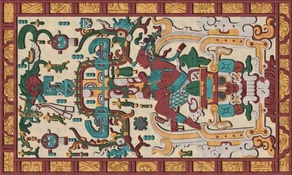 King Pakal Palenque Astronaut