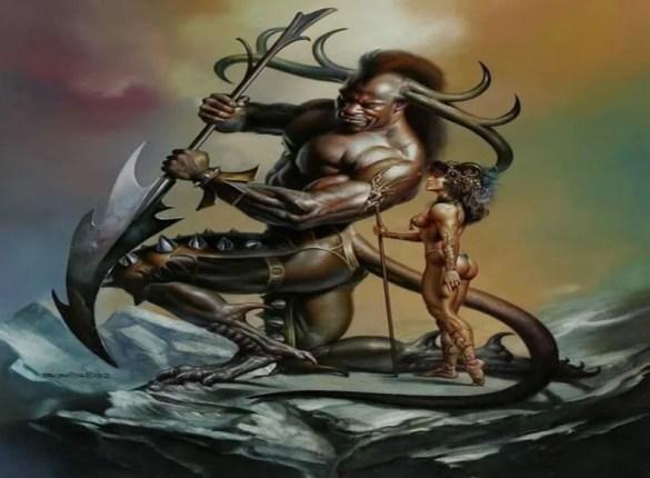 Creatures Ftom African Mythology and Fantasy