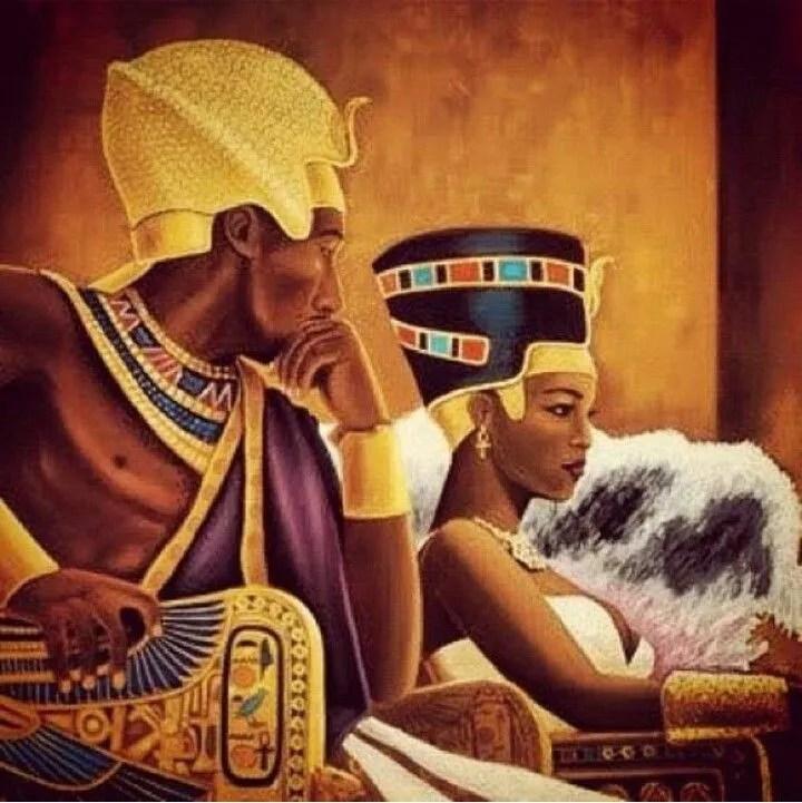 Black African Origins Of Egyptian Civilization