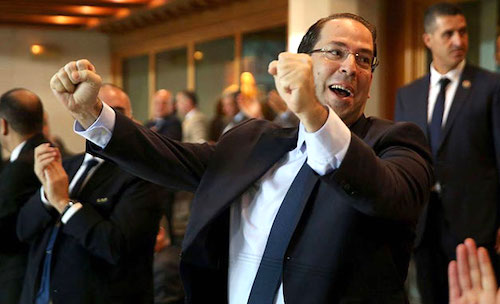 Le premier ministre Youssef Chahed