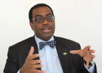président de la Banque Africaine de développement, Akinwumi Adesina,  AFP